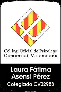 laura asensi colegiada Consulta de Psicología